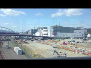 東静岡駅北口にローラースポーツ場