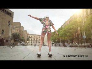 セグウェイ社スケート型乗り物「Drift W1」